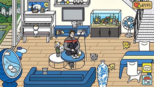 Hơn cả tựa game nuôi mèo, Adorable Home trở thành nguồn cảm hứng bất tận cho các tay chế ảnh - Ảnh 6.