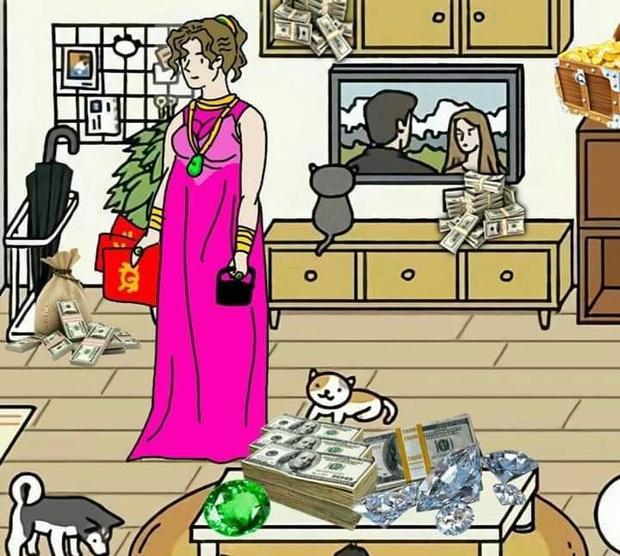Hơn cả tựa game nuôi mèo, Adorable Home trở thành nguồn cảm hứng bất tận cho các tay chế ảnh - Ảnh 14.