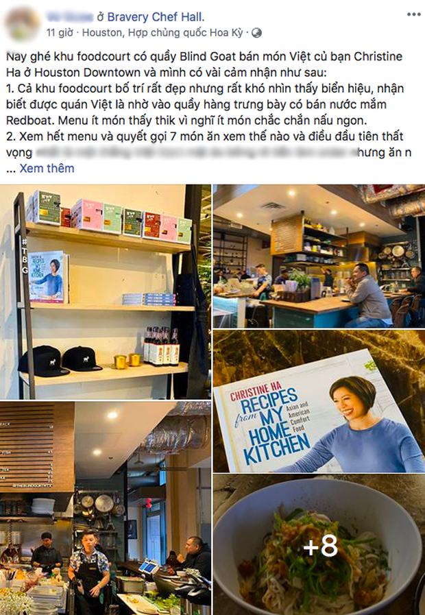 Đại diện nhà hàng của Christine Hà lên tiếng sau khi bị đầu bếp Việt chê dở lẫn miệt thị: Chính những người như anh ấy khiến ẩm thực Việt không thể được thế giới biết đến - Ảnh 2.