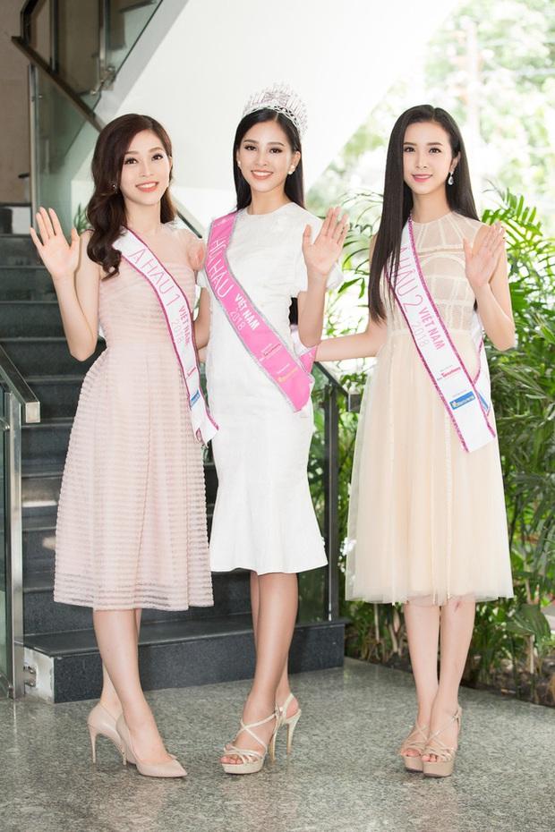 Hoa hậu Việt Nam 2020 chính thức khởi động, nhan sắc của Tiểu Vy và 2 nàng Á ngày càng chín mới là điều được chú ý! - Ảnh 15.