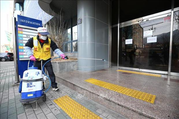 Hàn Quốc cấm tụ họp tại các nhà thờ của giáo phái Tân Thiên Địa tại Seoul - Ảnh 1.