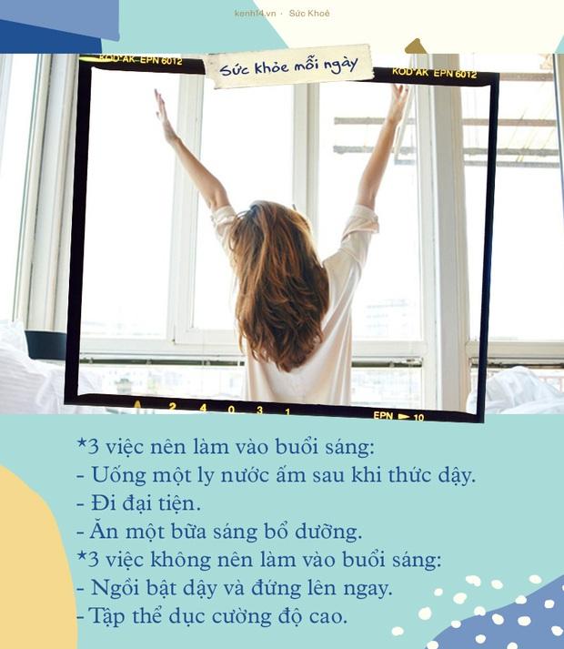 3 việc nên làm đủ và 2 việc không nên làm vào buổi sáng để duy trì được sức khỏe tốt nhất - Ảnh 1.