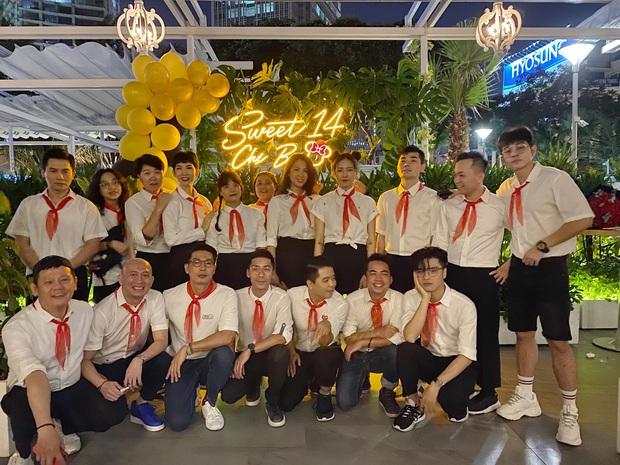 Mừng sinh nhật tuổi 41, Ngô Thanh Vân cùng hội bạn quyết trở về tuổi thơ bằng màn hoá trang thành học sinh cực lầy - Ảnh 3.