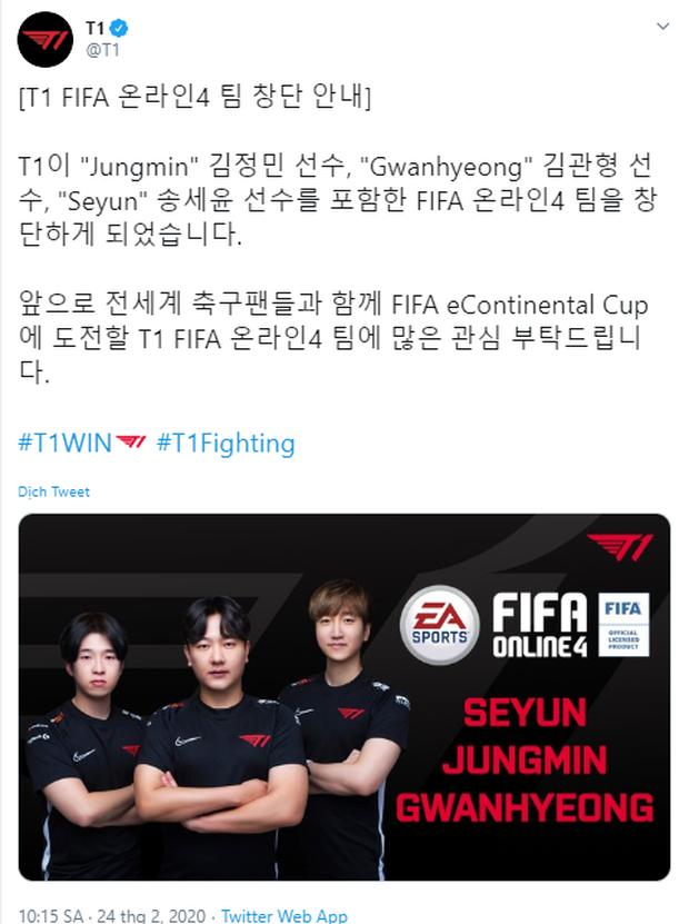 T1 lấn sân sang FO4, tham vọng trở thành thương hiệu eSports xưng bá toàn cầu! - Ảnh 1.