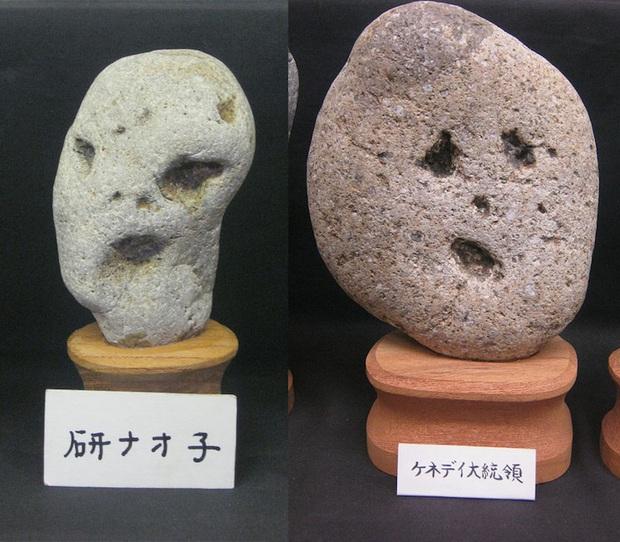 """Bảo tàng đá mặt người với hàng trăm sắc thái khác nhau ở Nhật Bản, có tác phẩm còn """"cosplay"""" cả danh ca Elvis Presley đình đám - Ảnh 2."""