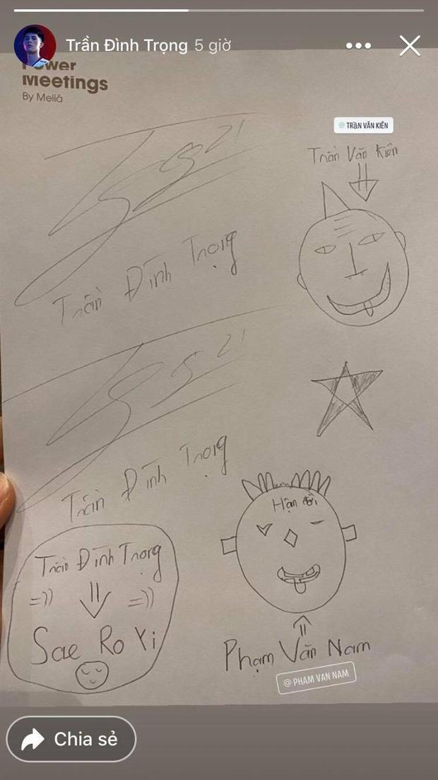 Ngồi buồn buồn, Đức Huy rủ Đình Trọng và đồng bọn vẽ chơi: Từ Park Sae Ro Yi ( Itaewon Class ) đến Son Goku, xem xong quên luôn bản chính - Ảnh 3.