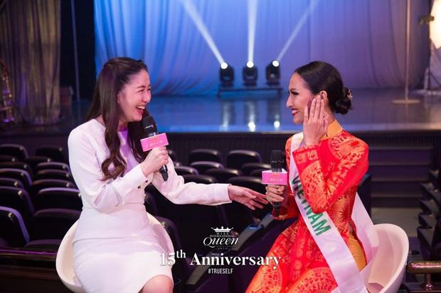 Hoài Sa được khen dù nói tiếng Anh ấp úng ở phần thi phỏng vấn, đại diện Thụy Điển gốc Việt lại thành tâm điểm tranh cãi - Ảnh 5.