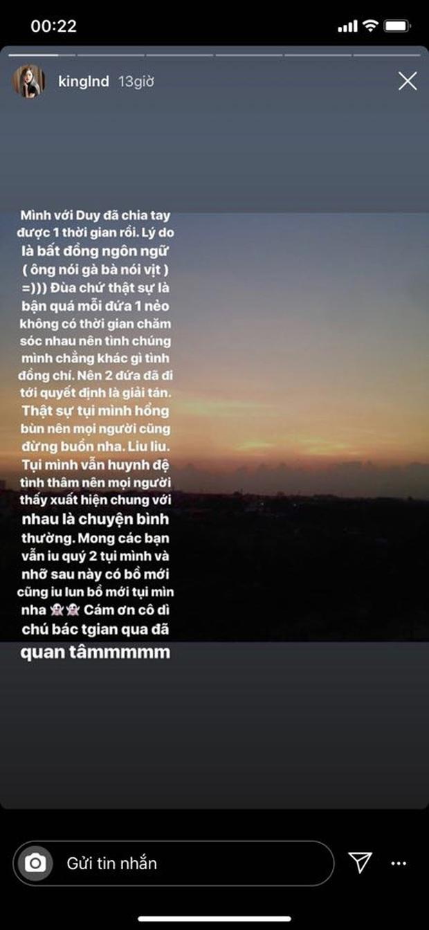 Hot streamer Linh Ngọc Đàm chia tay bạn trai, lý do là vì tình chúng mình chẳng khác gì tình đồng chí - Ảnh 2.