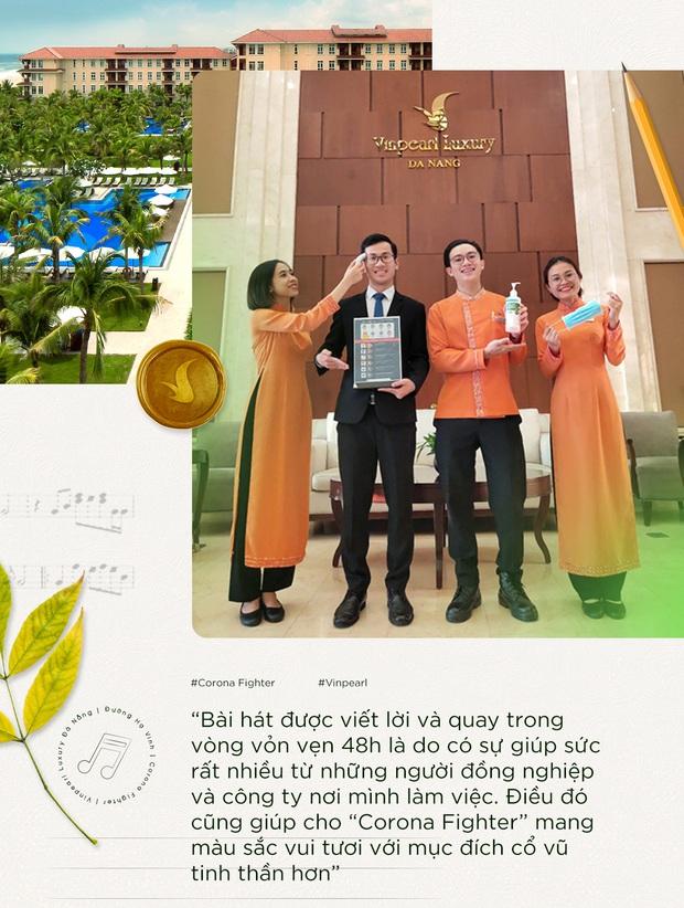 Bản rap cực chất của nhân viên lễ tân khách sạn sáng tác cổ vũ tinh thần phòng chống Corona - Ảnh 3.