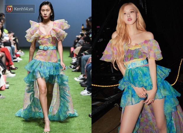 """Cùng một chiếc váy nhưng đến 3 kiểu """"biến hình"""": Stylist YG trổ tài giúp Rosé thắng thế trước Nancy, Park Min Young - Ảnh 2."""