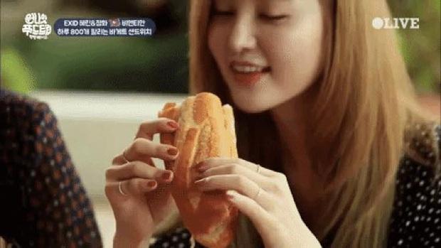 Nhìn xem, quá trời idol Hàn Quốc mê mẩn bánh mì trứ danh của Việt Nam nè! - Ảnh 19.