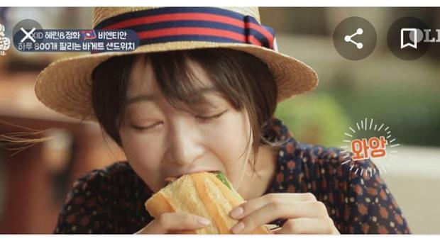 Nhìn xem, quá trời idol Hàn Quốc mê mẩn bánh mì trứ danh của Việt Nam nè! - Ảnh 17.