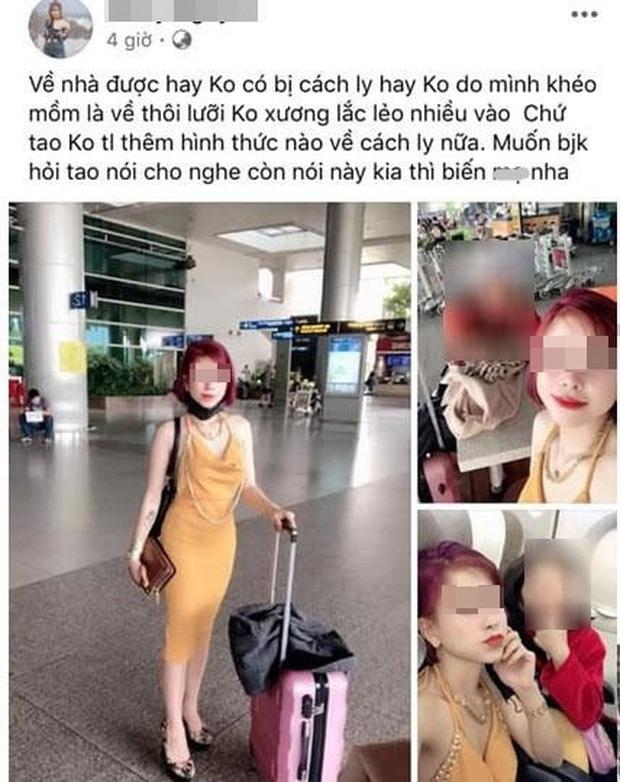 Đã cách ly cô gái về từ Daegu livestream khoe trốn được cách ly - Ảnh 3.