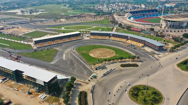 Đường đua công thức 1 tại Hà Nội đã hoàn tất, sẵn sàng cho giải đua xe hấp dẫn nhất hành tinh - Ảnh 1.