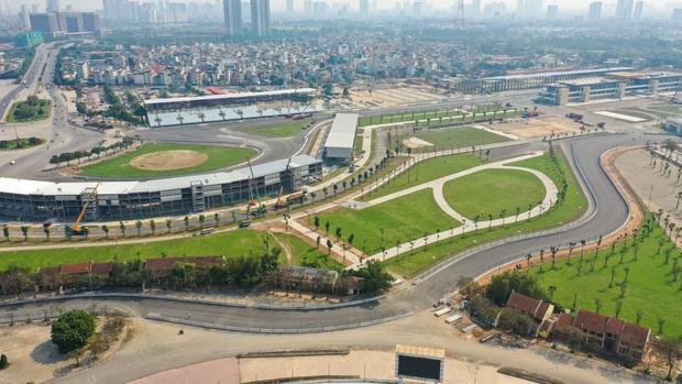 Đường đua công thức 1 tại Hà Nội đã hoàn tất, sẵn sàng cho giải đua xe hấp dẫn nhất hành tinh - Ảnh 2.