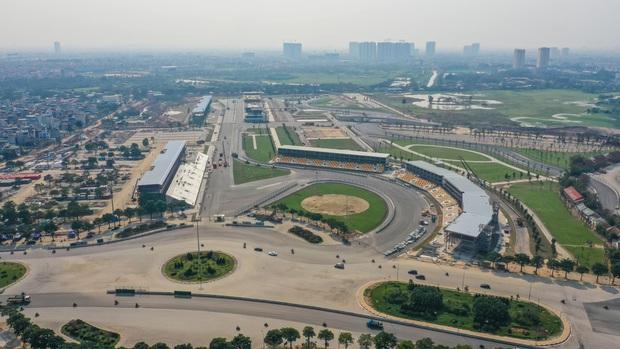 Đường đua công thức 1 tại Hà Nội đã hoàn tất, sẵn sàng cho giải đua xe hấp dẫn nhất hành tinh - Ảnh 4.