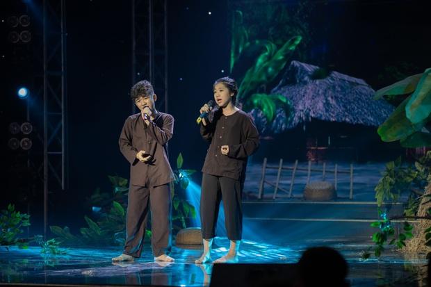 Cặp đôi vàng nhí: Văn Minh - Ngọc Giàu giành chiến thắng, cặp đôi triệu view trượt ngôi Quán quân - Ảnh 2.