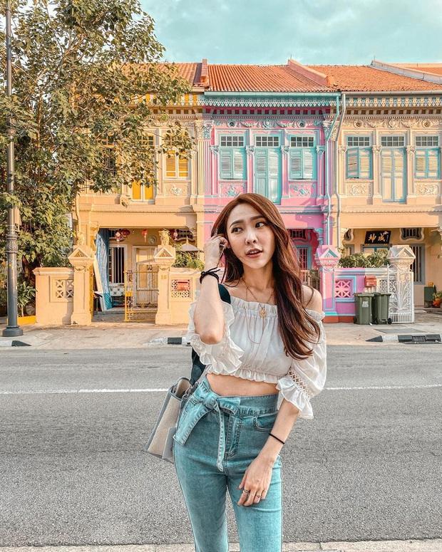 """Vừa phát hiện con phố 7 sắc cầu vồng cực hiếm người biết ở Singapore, hình sống ảo cứ tăng dần đều mỗi ngày vì background quá """"xịn"""" - Ảnh 10."""