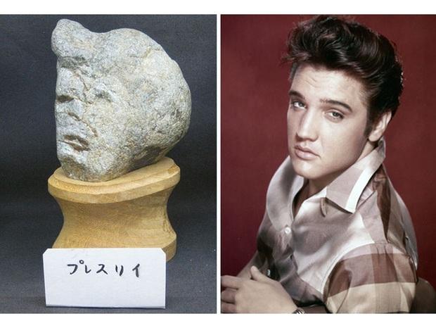 """Bảo tàng đá mặt người với hàng trăm sắc thái khác nhau ở Nhật Bản, có tác phẩm còn """"cosplay"""" cả danh ca Elvis Presley đình đám - Ảnh 9."""