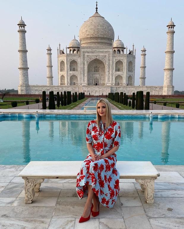 Ái nữ Tổng thống Mỹ được khen hết lời khi diện lại váy cũ, đẹp như nữ thần trong chuyến công du nước ngoài - Ảnh 2.