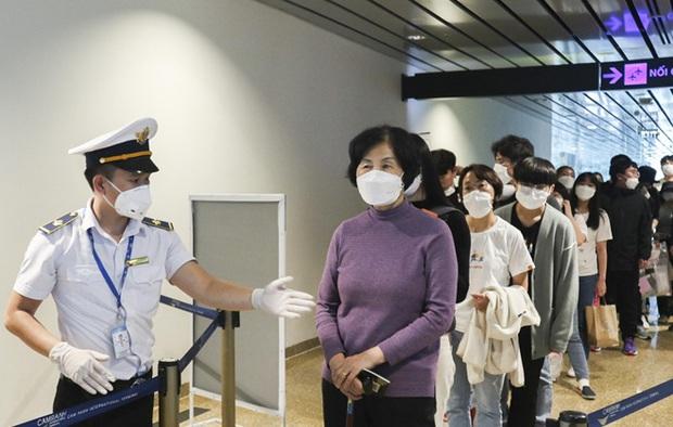 Hai du khách Hàn Quốc từ chối cách ly đã rời Việt Nam - Ảnh 1.