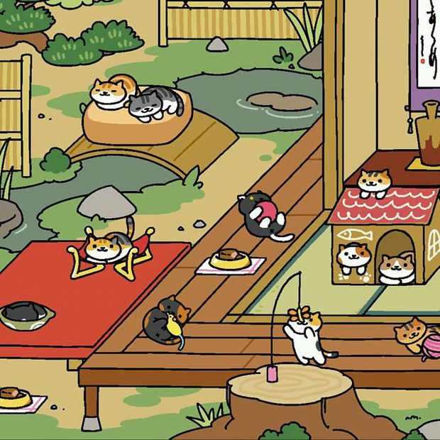 Hoá ra trước khi Adorable Home nổi đình nổi đám, còn có một tựa game chăm boss Neko Atsume: Kitty Collector cũng cực kỳ hay ho! - Ảnh 10.