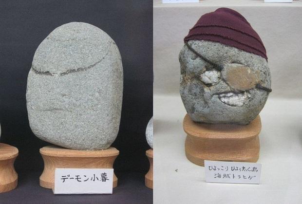 """Bảo tàng đá mặt người với hàng trăm sắc thái khác nhau ở Nhật Bản, có tác phẩm còn """"cosplay"""" cả danh ca Elvis Presley đình đám - Ảnh 8."""