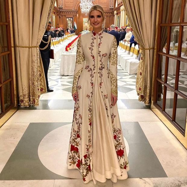 Ái nữ Tổng thống Mỹ được khen hết lời khi diện lại váy cũ, đẹp như nữ thần trong chuyến công du nước ngoài - Ảnh 6.