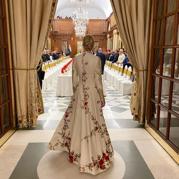 Ái nữ Tổng thống Mỹ được khen hết lời khi diện lại váy cũ, đẹp như nữ thần trong chuyến công du nước ngoài - Ảnh 7.