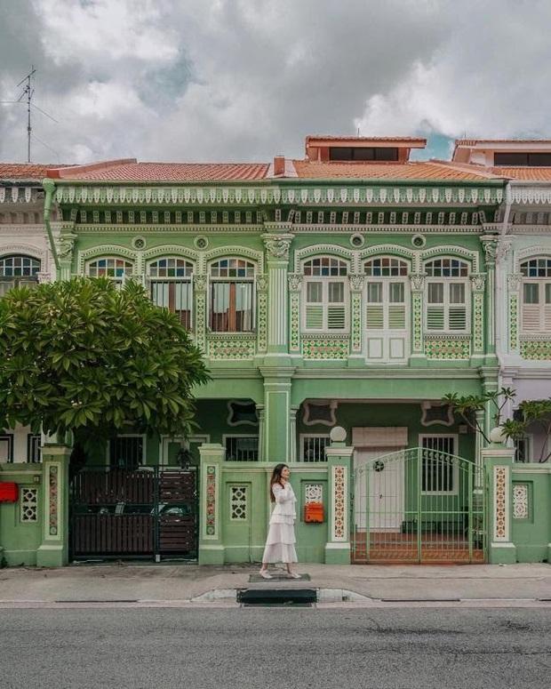 """Vừa phát hiện con phố 7 sắc cầu vồng cực hiếm người biết ở Singapore, hình sống ảo cứ tăng dần đều mỗi ngày vì background quá """"xịn"""" - Ảnh 8."""