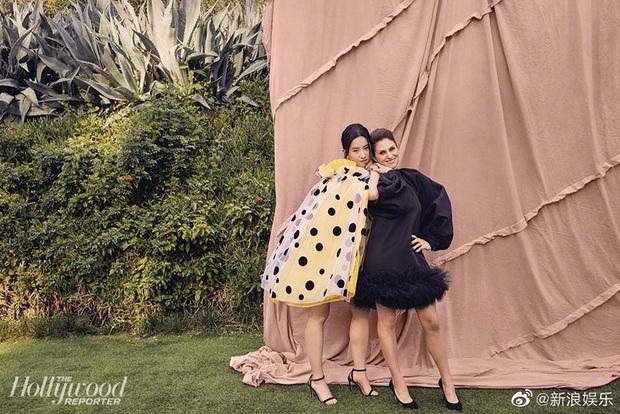 Tranh cãi bộ ảnh chụp cho tạp chí Mỹ của Lưu Diệc Phi, Cnet cạn lời với bức chụp góc nghiêng già chát - Ảnh 7.