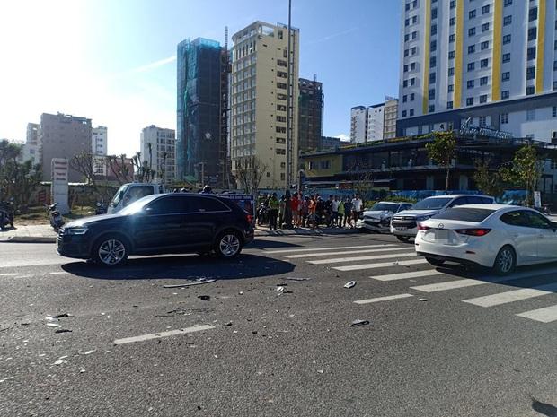 Tai nạn liên hoàn trước khu phố Tây Đà Nẵng, 3 người bị thương - Ảnh 3.