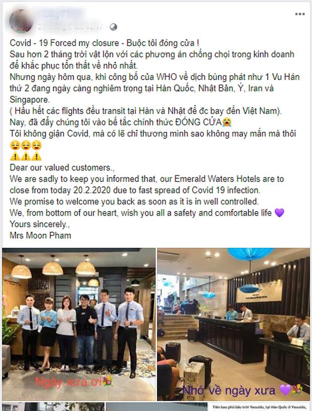 Clip: Nữ quản lý khách sạn ở Hà Nội bật khóc khi buộc phải cho nhân viên về quê 4 tháng vì Covid-19, mỗi tháng hỗ trợ 1,5 triệu đồng - Ảnh 4.