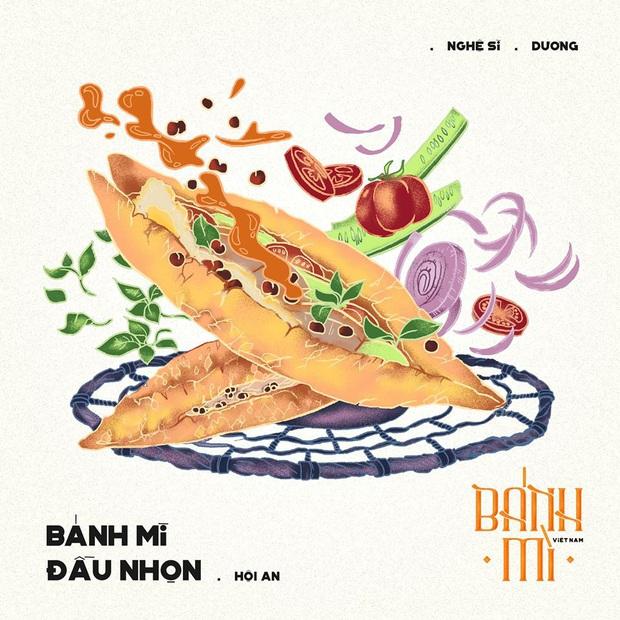 Bộ tranh tôn vinh các thể loại bánh mì Việt Nam đang được nhấn nút share kịch liệt, dân mạng không khỏi tự hào về đặc sản nước nhà - Ảnh 18.