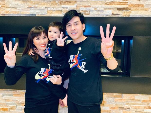Vợ chồng Đan Trường tổ chức sinh nhật 3 tuổi cực giản dị cho quý tử tại biệt thự triệu đô ở Mỹ, tiết lộ chuyện chưa kể trong ngày sinh bé - Ảnh 5.