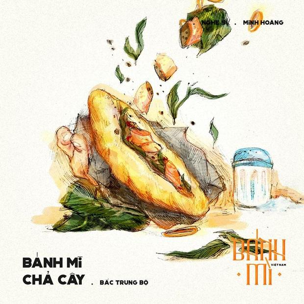 Bộ tranh tôn vinh các thể loại bánh mì Việt Nam đang được nhấn nút share kịch liệt, dân mạng không khỏi tự hào về đặc sản nước nhà - Ảnh 10.