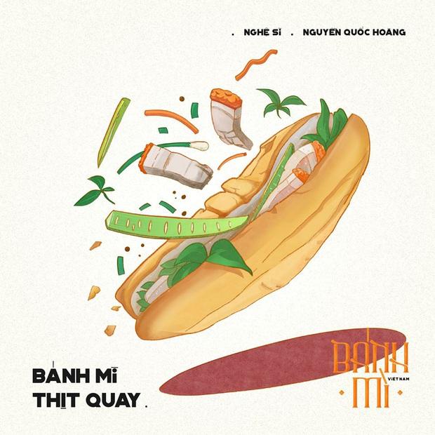 Bộ tranh tôn vinh các thể loại bánh mì Việt Nam đang được nhấn nút share kịch liệt, dân mạng không khỏi tự hào về đặc sản nước nhà - Ảnh 5.