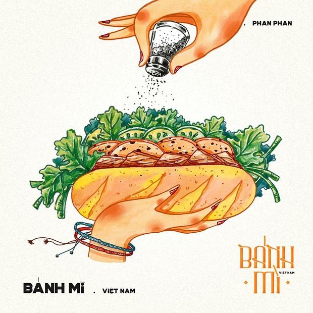 Bộ tranh tôn vinh các thể loại bánh mì Việt Nam đang được nhấn nút share kịch liệt, dân mạng không khỏi tự hào về đặc sản nước nhà - Ảnh 20.