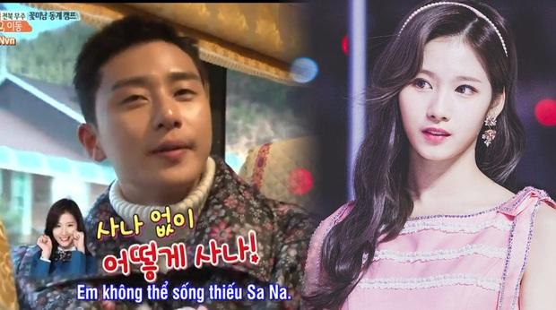 Trùm quán nhậu Park Seo Joon cũng từng dính thính cực nặng của Sana (TWICE) - Ảnh 1.
