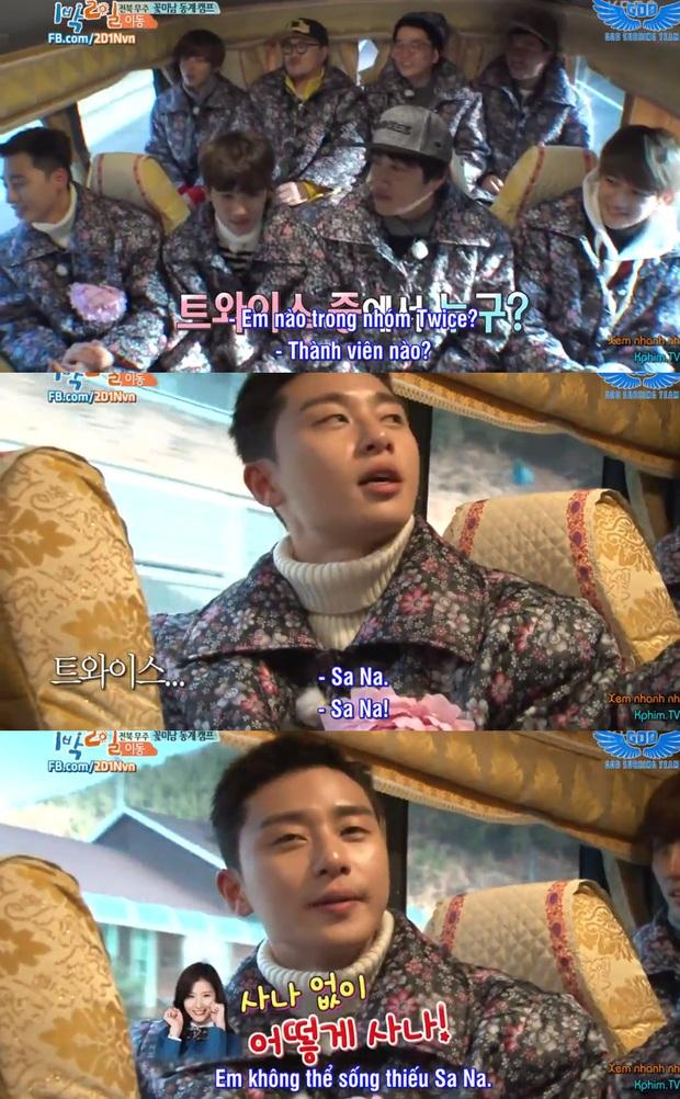 Trùm quán nhậu Park Seo Joon cũng từng dính thính cực nặng của Sana (TWICE) - Ảnh 2.