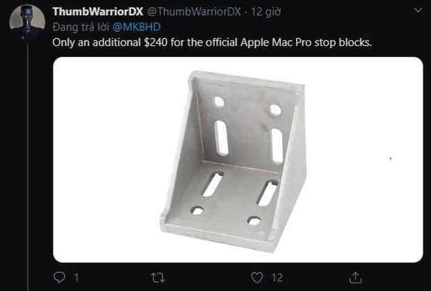 Bộ bánh xe 400 USD của Mac Pro biết đi mà không biết phanh, lơ đễnh là lạc trôi luôn mấy chục nghìn đô - Ảnh 3.