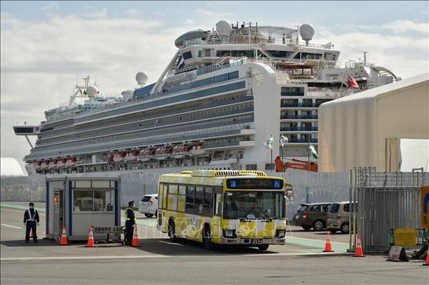 Thủy thủ đoàn trên tàu Diamond Princess bắt đầu lên bờ - Ảnh 1.