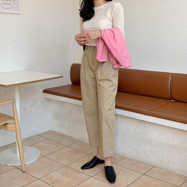 Phát chán khi diện mãi quần jeans, đây là 4 mẫu quần vừa thoải mái vừa hack dáng các nàng nên tích cực mặc - Ảnh 13.