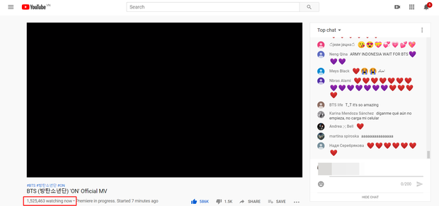 BTS tung MV chính thức của ON: Hoành tráng, mãn nhãn như trailer điện ảnh Hollywood, lập tức phá vỡ kỉ lục công chiếu trực tiếp toàn thế giới! - Ảnh 6.