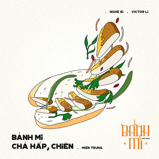 Bộ tranh tôn vinh các thể loại bánh mì Việt Nam đang được nhấn nút share kịch liệt, dân mạng không khỏi tự hào về đặc sản nước nhà - Ảnh 16.