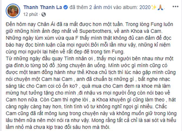 Fung La bất ngờ chia sẻ về lùm xùm giữa Châu Đăng Khoa và Orange: Khoa chủ tịch lúc nào gặp mình cũng nói chuyện một Cam hai Cam - Ảnh 1.