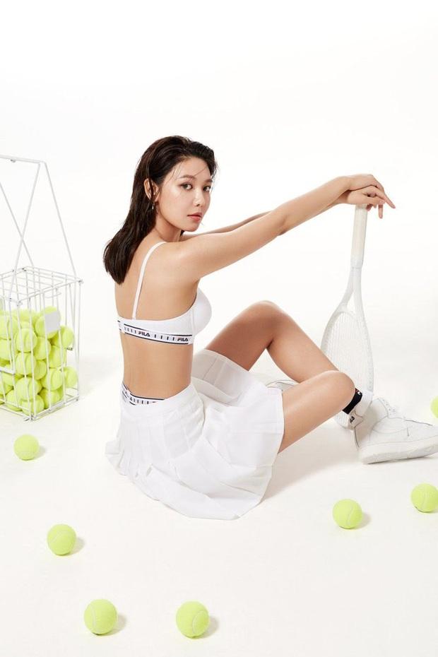 Tung sương sương vài nét ảnh diện nội y thể thao, Sooyoung (SNSD) gây sốt vì hình thể quá quyến rũ! - Ảnh 8.