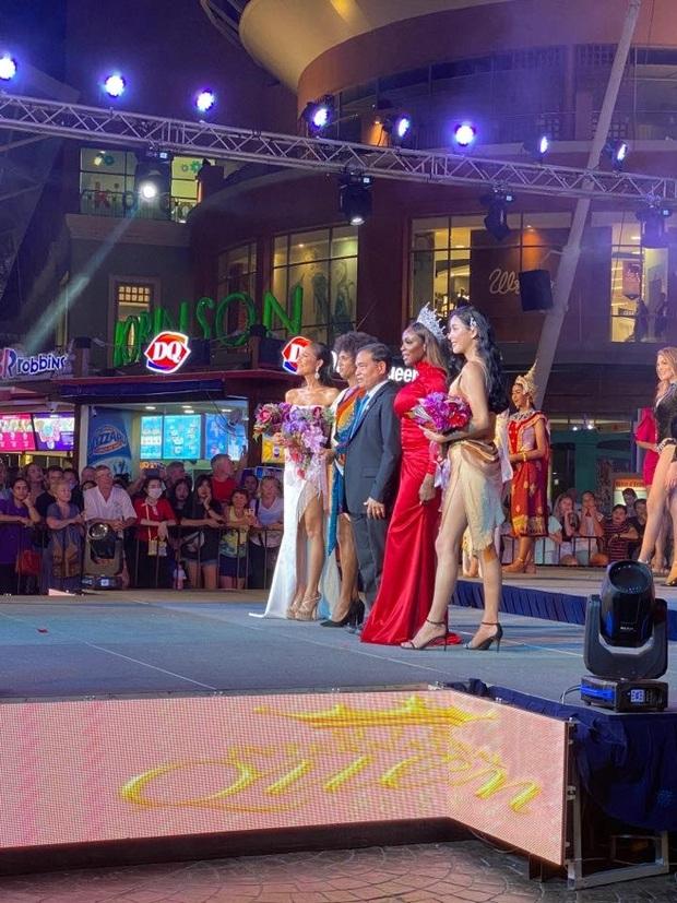 Tin vui đầu tiên của Hoài Sa tại Hoa hậu Chuyển giới Quốc tế: Về nhì phần thi tài năng, tạo ấn tượng mạnh khi trình diễn Quốc phục! - Ảnh 2.