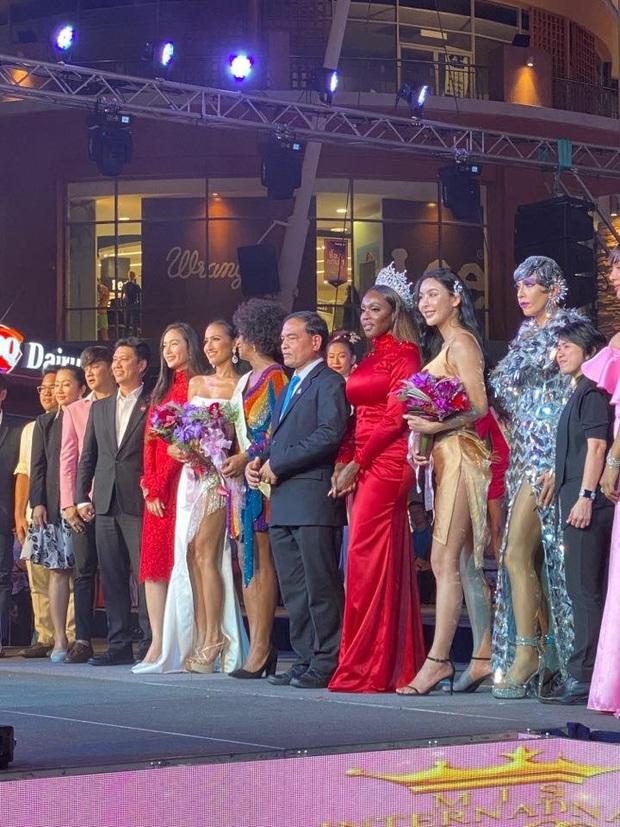 Tin vui đầu tiên của Hoài Sa tại Hoa hậu Chuyển giới Quốc tế: Về nhì phần thi tài năng, tạo ấn tượng mạnh khi trình diễn Quốc phục! - Ảnh 3.