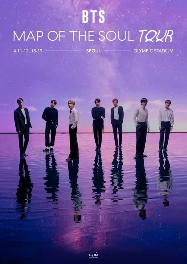 BTS huỷ bỏ 4 đêm diễn mở màn Map Of The Soul Tour tại Hàn Quốc vì dịch Covid-19, ước tính thiệt hại nặng nề lên tới hàng nghìn tỉ đồng - Ảnh 1.